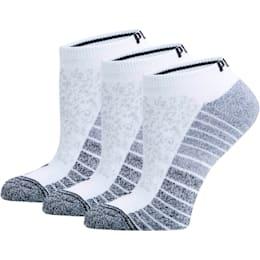 Women's Low Cut Socks [3 Pack], WHITE, small